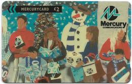 UK (Mercury) - Corporate Christmas 1993 - 20MERC - MER486, 15.013ex, Used - Reino Unido