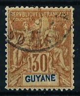 Guayana (Francesa) Nº 38 Usado - French Guiana (1886-1949)