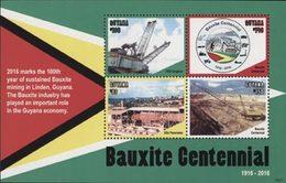 GUYANE Industrie Du Bauxite (1621) 4v Neuf ** MNH - Guyana (1966-...)