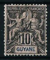 Guayana (Francesa) Nº 34 Usado - French Guiana (1886-1949)