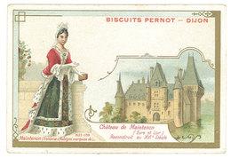 Chromo Biscuits Pernot, Dijon - Château De Maintenon - Pernot