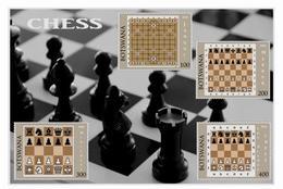 Jeu De Blocs D'échecs - Schach