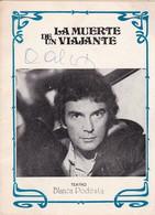 """ALFREDO ALCON Y TONY VILLAS - AUTOGRAFOS SOBRE PROGRAMA """"LA MUERTE DE UN VIAJANTE"""" OBRA TEATRO, 1979  -LILHU - Autógrafos"""