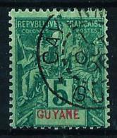 Guayana (Francesa) Nº 33 Usado - French Guiana (1886-1949)
