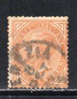 Rox 1863 Regno D'Italia 10c Tiratura Torino  Usato - Oblitérés