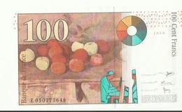 Billet De 100 Francs  1998 - 1871-1952 Antiguos Francos Circulantes En El XX Siglo
