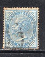Rox 1877 Regno D'Italia 10c   Usato - 1861-78 Victor Emmanuel II