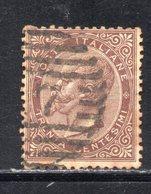 Rox 1863 Regno D'Italia Tiratura Torino 30  Usato - 1861-78 Victor Emmanuel II