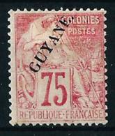 Guayana (Francesa) Nº 27 Nuevo* - Unused Stamps