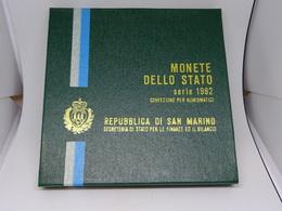 Serie Divisionale San Marino 1982 - San Marino