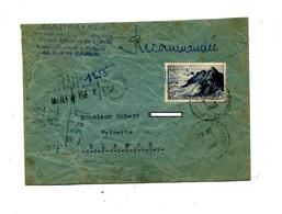 Lettre Recommandée Mulhouse Sur Raz + Rural Kembs - Poststempel (Briefe)