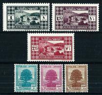 Gran Líbano (Francés) Nº 164/6-167/9 Nuevo**/* - Unused Stamps