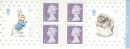 GREAT BRITAIN, WINDOW BOOKLET (RETAIL), 2016, PM 52, Beatrix Potter - Booklets