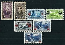Gran Líbano (Francés) Nº 157/63*/(*)/º - Unused Stamps