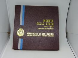 Serie Divisionale San Marino 1983 - San Marino