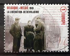 BELGIQUE BELGIEN BÉLGICA BELGIUM 2018 GREAT WAR CENTENARY: THE LIBERATION IN 1918 USED MI 4861 - Bélgica