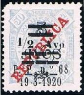 Timor, 1920, # 191 Dent. 11 1/2, MNG - Timor
