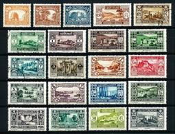 Gran Líbano (Francés) Nº 128/48*/(*)/º - Unused Stamps