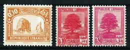 Gran Líbano (Francés) Nº 149-150/1 Nuevo* - Unused Stamps