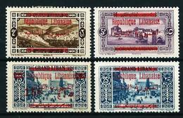 Gran Líbano (Francés) Nº 111/12-114/15 Nuevo* - Unused Stamps