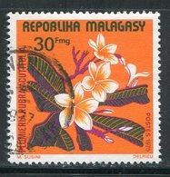 MADAGASCAR- Y&T N°564- Oblitéré (fleurs) - Madagaskar (1960-...)