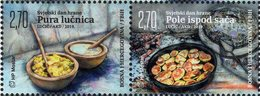 Bosnia & Herzegovina - Mostar - 2019 - World Food Day - Polenta And Potato Halves - Mint Stamp Set - Bosnia Herzegovina