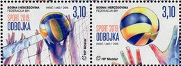 Bosnia & Herzegovina - Mostar - 2019 - Sport - Volleyball - Mint Stamp Set - Bosnia Herzegovina