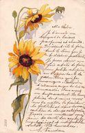 Tournesol - Carte 1907 - Flores