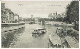 CPA -75 - PARIS - Perspective Sur La Seine - - El Sena Y Sus Bordes