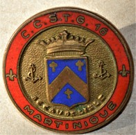 Rare Insigne 16° C.C.S.T.G, MARTINIQUE - Heer