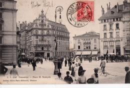 CPA - LAUSANNE - Place St François - Hôtel Du Grand Pont - VD Vaud