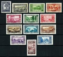 Gran Líbano (Francés) Nº 50/62 Nuevo*/(*) - Unused Stamps