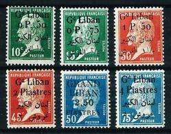 Gran Líbano (Francés) Nº 39/44 Nuevo* - Gran Líbano (1924-1945)