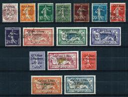 Gran Líbano (Francés) Nº 22/38 (falta Nº 29)*/(*)/º - Unused Stamps