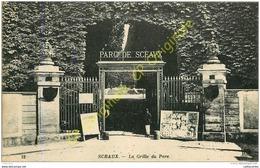 92. SCEAUX . La Grille Du Parc . - Sceaux
