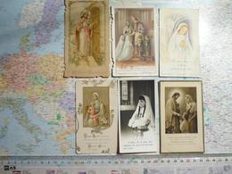 42 Images Religieuses De Communions Années Diverses - Santini