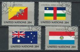 NN-/-767-  AUSTRALIE, PARAGUAY, BHUTAN, CENTRAFRIQUE, N° 428/31, Obl., COTE 5.20 € , LIQUIDATION - New York - Sede Centrale Delle NU