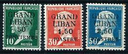 Gran Líbano (Francés) Nº 15/17 Nuevo* - Unused Stamps