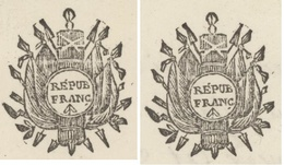 2 X Héraldiques Haras De Rosières An 7 - 24.12.1798 Signé Strubberg Chef Du Haras - Documents Historiques