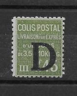 Colis Postal N° 137 ** TTBE - Cote Y&T 2019 De 16 € - Colis Postaux