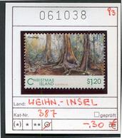 Weihnachtsinsel - Christmas Island - Michel 387 - Oo Oblit. Used Gebruikt - Albatrosse & Sturmvögel