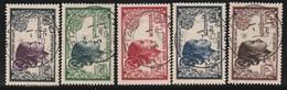 LAOS - N°12/17 Obl (1952) Laotienne - Laos