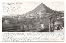UN SALUTO DA CAVA DEI TIRRENI - PANORAMA DI MONTE CASTELLO VISTO DA ROTOLO - Cava De' Tirreni