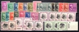 Etats-Unis Petite Collection Neufs ** MNH 1938. Bonnes Valeurs. TB. A Saisir! - Unused Stamps