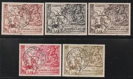 LAOS - N°30/2 + PA N°20/1 Obl (1956) 2500e Anniversaire De La Naissance De Bouddha - Laos