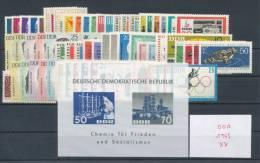 DDR Jahrgang 1963 ** Komplett Mi. 60,- - [6] Repubblica Democratica