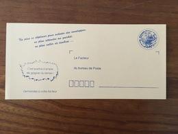 """CARTE POSTALE PRÉ-TIMBRÉE - Commande D'enveloppes Timbrées """"C'est Parfois Si Simple De Gagner Du Temps"""" - Neuf RARE - Postal Stamped Stationery"""