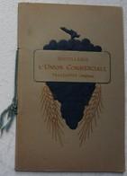 Plaquette DISTILLERIE UNION COMMERCIALE Trazegnies Apéritif Cordial Merise Fleschtau Forum Cognac Fin Bois Liqueur - Unclassified
