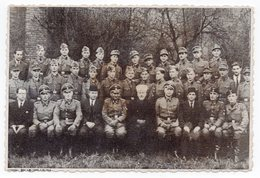 WWII, GERMAN TROOPS IN BOSNIA, GROUP PHOTO WITH LOCALS, ORIGINAL PHOTOGRAPH - Bosnien-Herzegowina