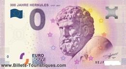 Billet 0 Euro ALLEMAND 300 ANS HERCULES - EURO